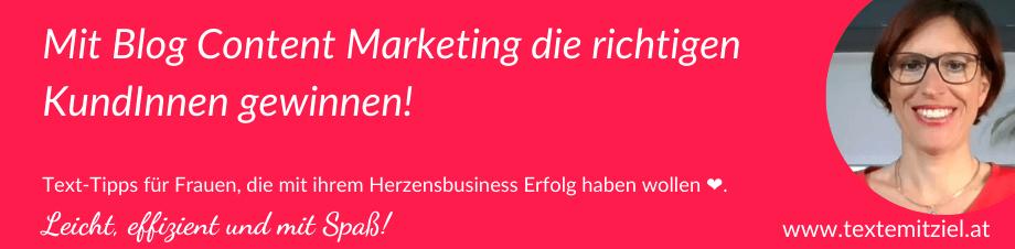 Blog Content Marketing für EPUs